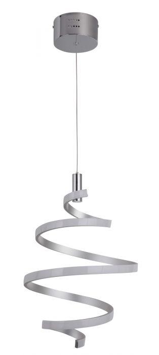 P817MSCH-LED LED Mini Pendant Matte Silver-Chrome