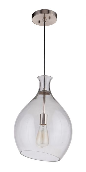 P951BNK1 Pendant Brushed Polished Nickel