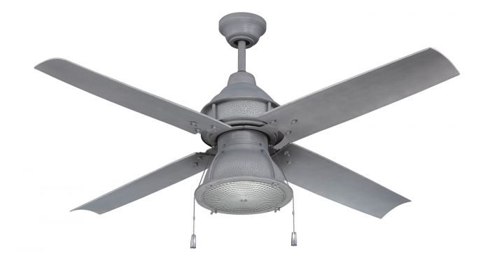 """Port Arbor 52"""" Ceiling Fan with Blades and Light Kit"""