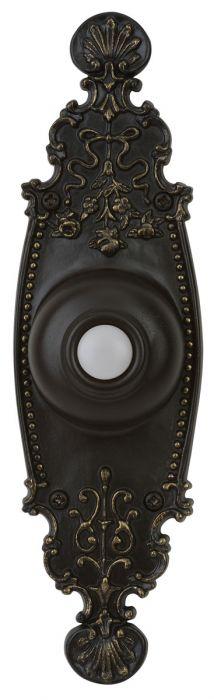 PB3035-AZ Lighted Push Button Antique Bronze