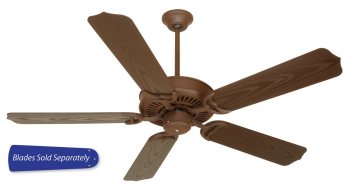 "Porch Fan 52"" Ceiling Fan (Blades Sold Separately)"