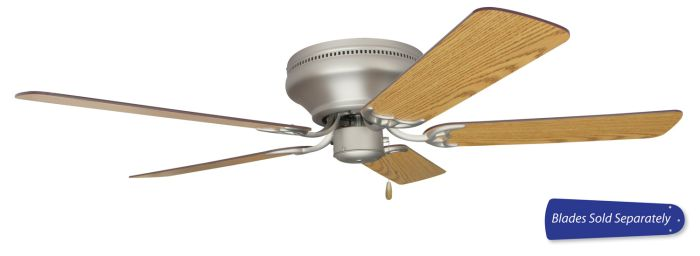 "Pro Contemporary Flushmount 52"" Ceiling Fan (Blades Sold Separately)"