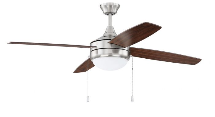 """Phaze 4 Blade 52"""" Ceiling Fan with Blades and Light Kit"""