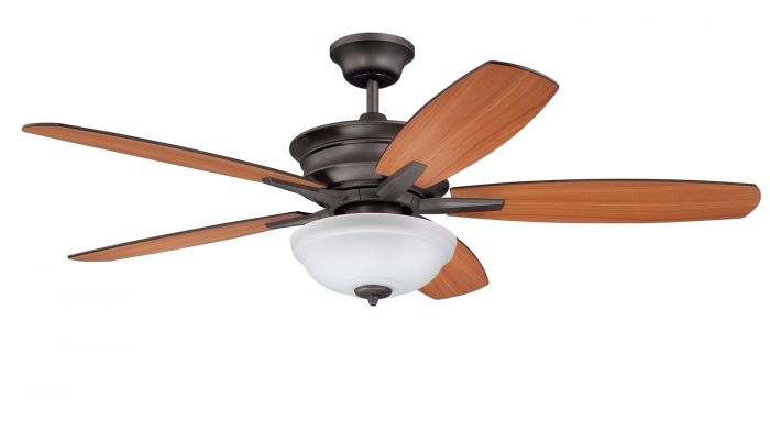 """Penbrook 52"""" Ceiling Fan with Blades and Light Kit"""