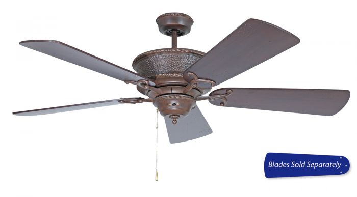 RT52AG Customizable Fan - Select Blades (Sold Separately) Aged Bronze Textured