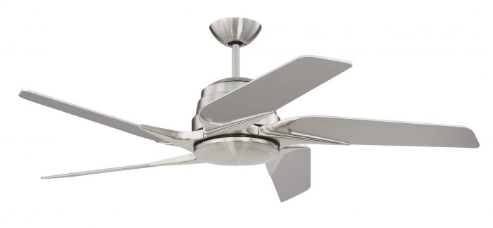 SOE54BNK5 Ceiling Fan (Blades Included) Brushed Polished Nickel