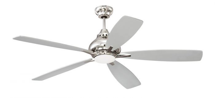 SWY52PLN5 Ceiling Fan (Blades Included) Polished Nickel