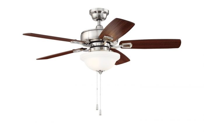 """Twist N Click 42"""" Ceiling Fan with Blades and Light Kit"""