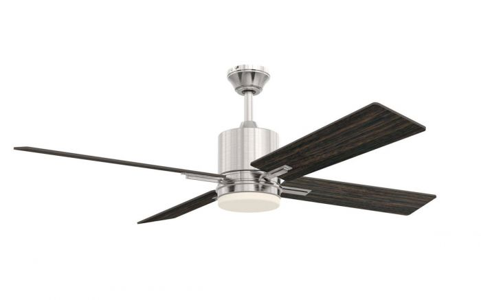 """Teana 52"""" Ceiling Fan with Blades, Light Kit and Wall Control"""
