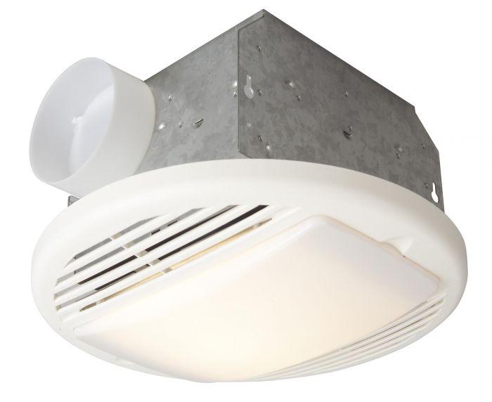 TFV70L Bath Exhaust Fan with Light Designer White