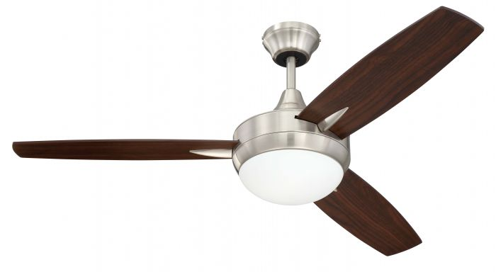 """Targas 48"""" 48"""" Ceiling Fan with Blades and Light Kit"""