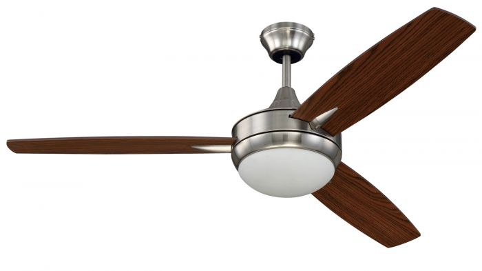 "Targas 52"" 52"" Ceiling Fan with Blades and Light Kit"