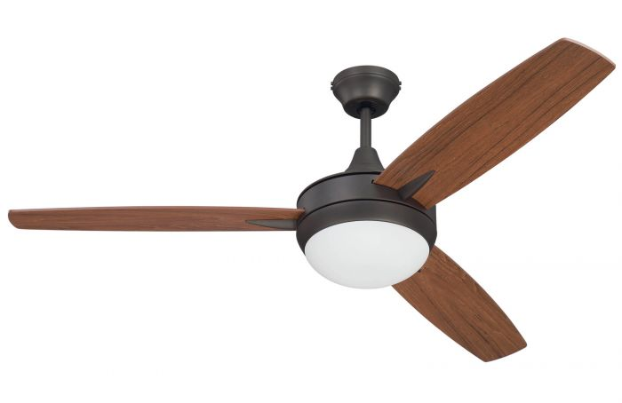 """Targas 52"""" 52"""" Ceiling Fan with Blades and Light Kit"""