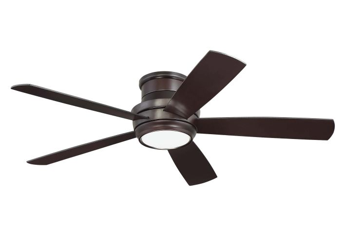 "Tempo Hugger 52"" 52"" Ceiling Fan with Blades and Light Kit"