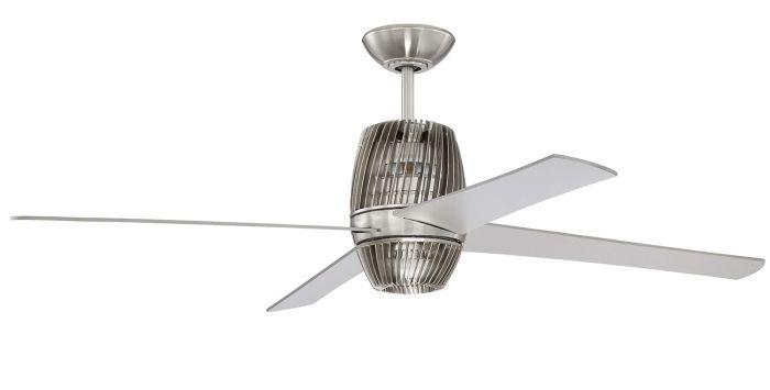 TOR52BNK4 Ceiling Fan (Blades Included) Brushed Polished Nickel