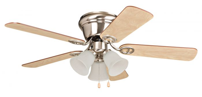 "Wyman 3 Light 42"" Ceiling Fan with Blades and Light Kit"