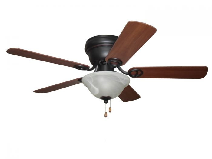 "Wyman Bowl Kit 42"" Ceiling Fan with Blades and Light Kit"