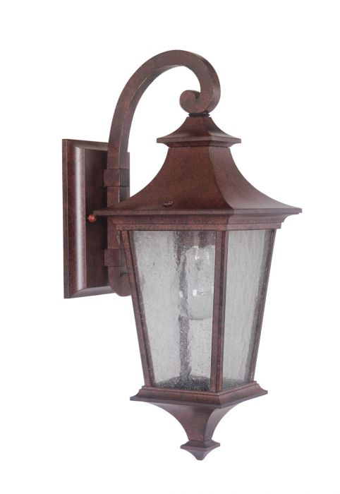Argent 1 Light Small Wall Mount