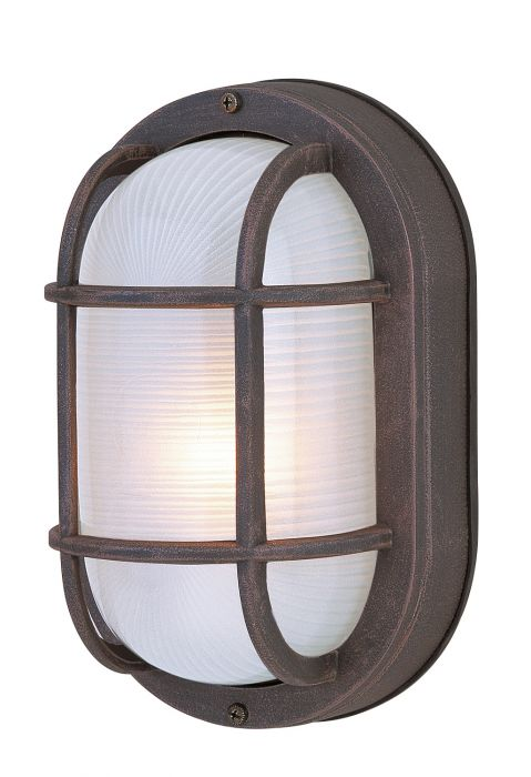 Bulkheads Oval and Round 1 Light Small Flushmount