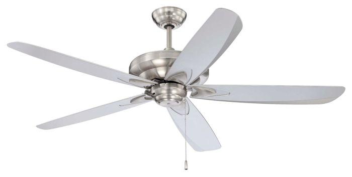 ZE56BNK5 Ceiling Fan (Blades Included) Brushed Polished Nickel