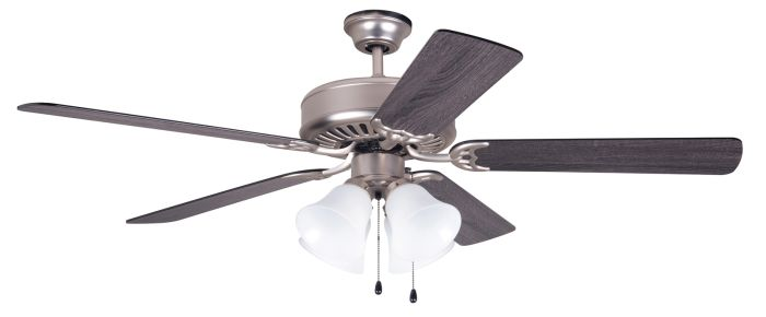 "Pro 203 52"" Ceiling Fan with Light (Blades Sold Separately)"