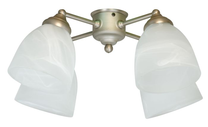 4 Light Fitter and Glass - LK401