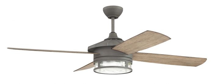 STK52AGV4 Ceiling Fan (Blades Included) Aged Galvanized