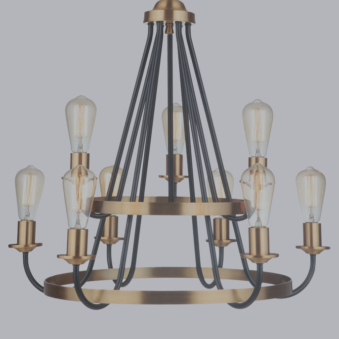 Randolph Chandelier by Craftmade
